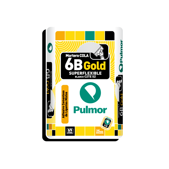 C. C. PULMOR 6B GOLD SUPER FLEXIVEL BRANCO 25 KG