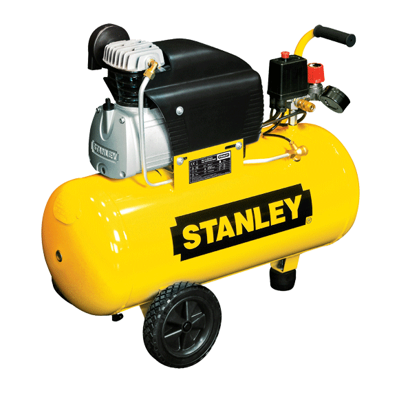 COMPRESSOR 50 LTS 2,5 HP 10 BAR STANLEY