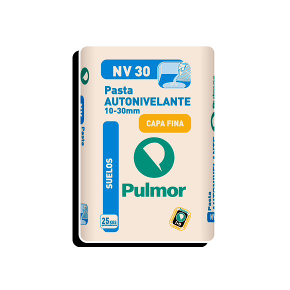 PASTA AUTONIVELANTE NV30 10-30MM PULMOR 25 KG
