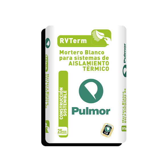 ARGAMASSA DE COLAGEM RVTerm BRANCO C/F PULMOR 25 KG