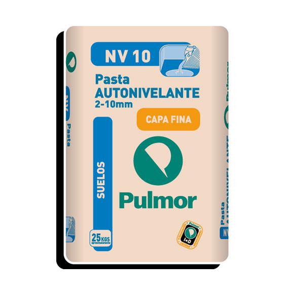 PASTA AUTONIVELANTE NV10 2-10MM PULMOR 25 KG