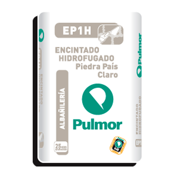 ARGAMASSA DE ENCHIMENTO CLARO EP1H PULMOR 25KG